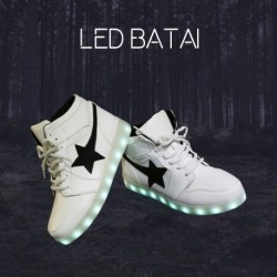 Balti LED batai STAR