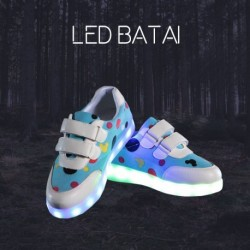 Mėlyni LED batai DOT