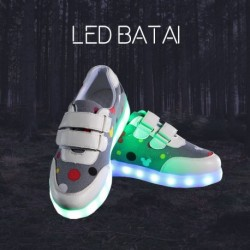 Pilki LED batai DOT
