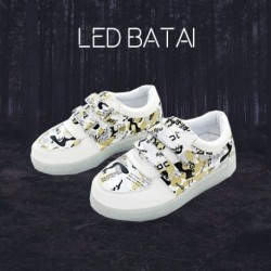 Geltoni LED batai MOZAIKA