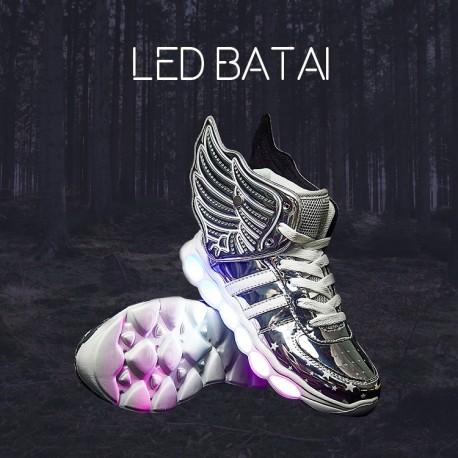 Pilki LED batai