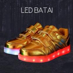 Auksiniai LED batai