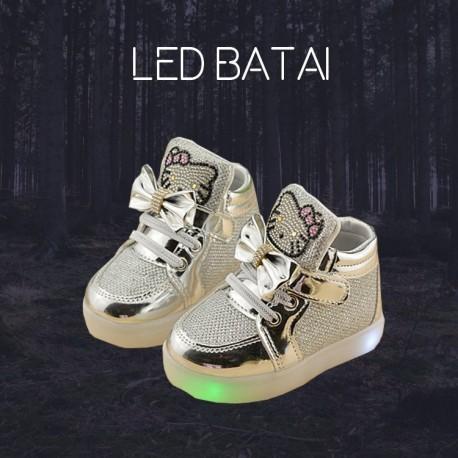 Sidabriniai LED batai