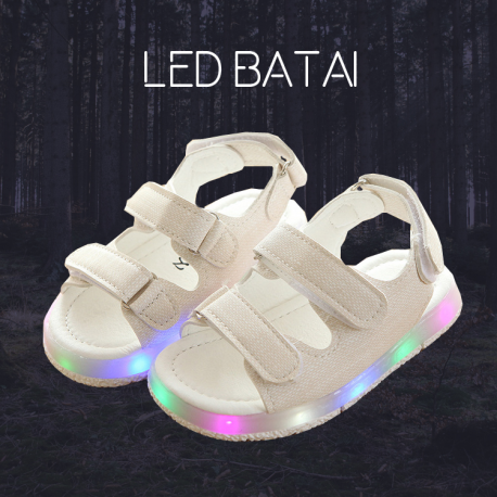 Baltos LED basutės