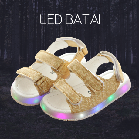 Gelsvos LED basutės