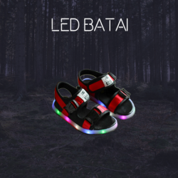 Raudonos LED basutės