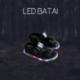 Juodos LED basutės