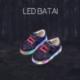 Mėlyni LED batai
