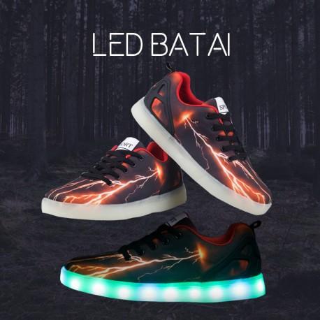 LED batai Žaibas