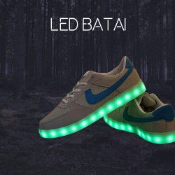 Medžiaginiai LED batai