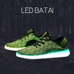Žali LED batai